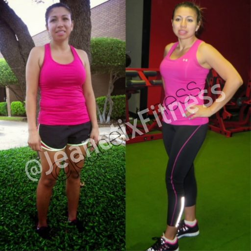 Iris transformational picture - Jeanetix Fitness Gym